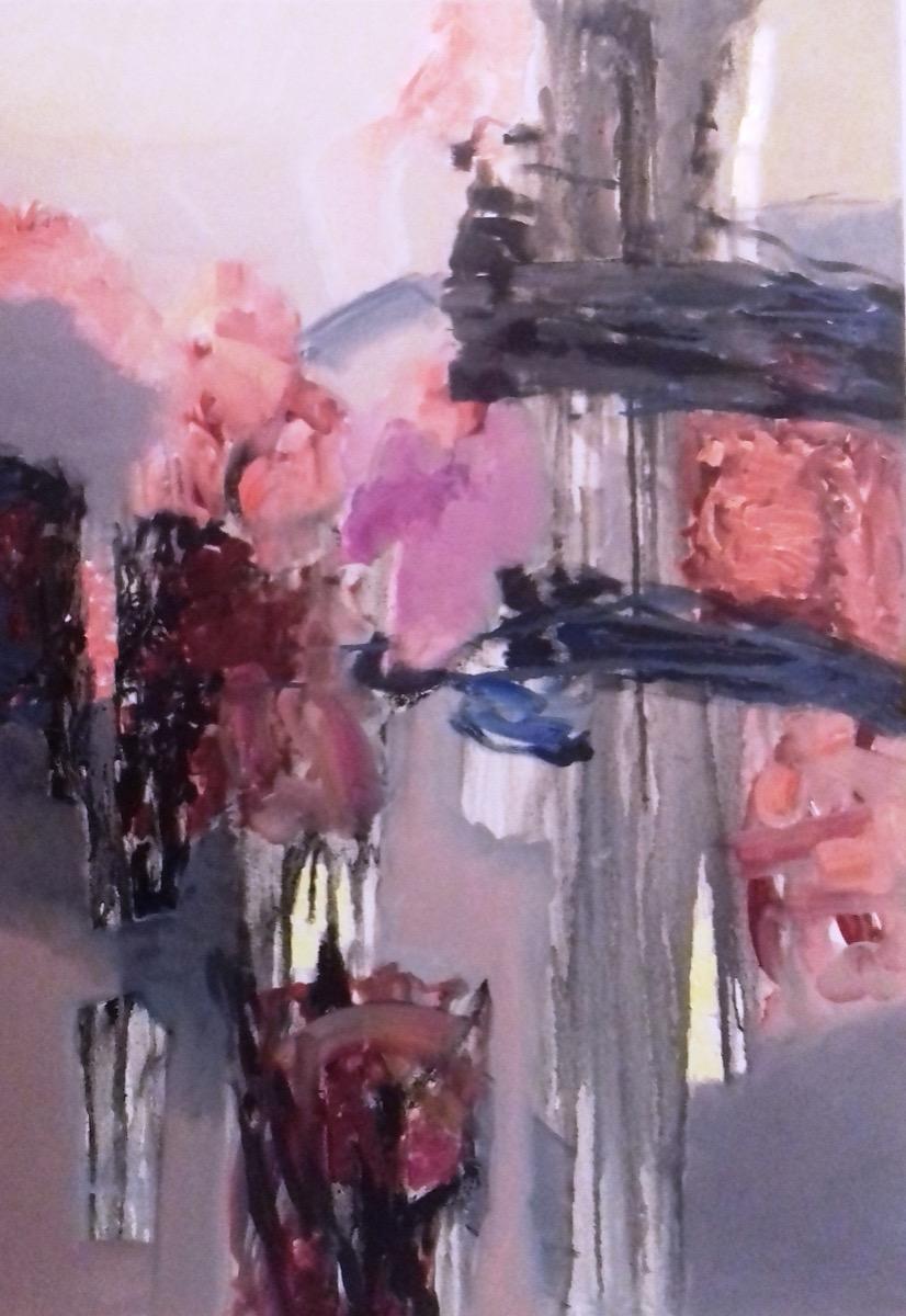 """Cornelia GHERLAN, """"Suita nr. 3 pentru pian"""", tehnica – pictură"""