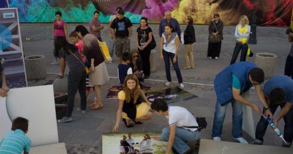 Expozitie Tara lui Enescu in Bucurestiul Creativ