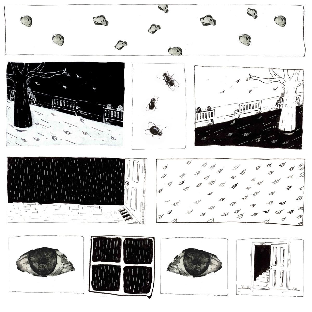 """Ionuț-Bogdan CRAIU, """"Impresii din copilărie"""", tehnica – ilustrație digitală"""