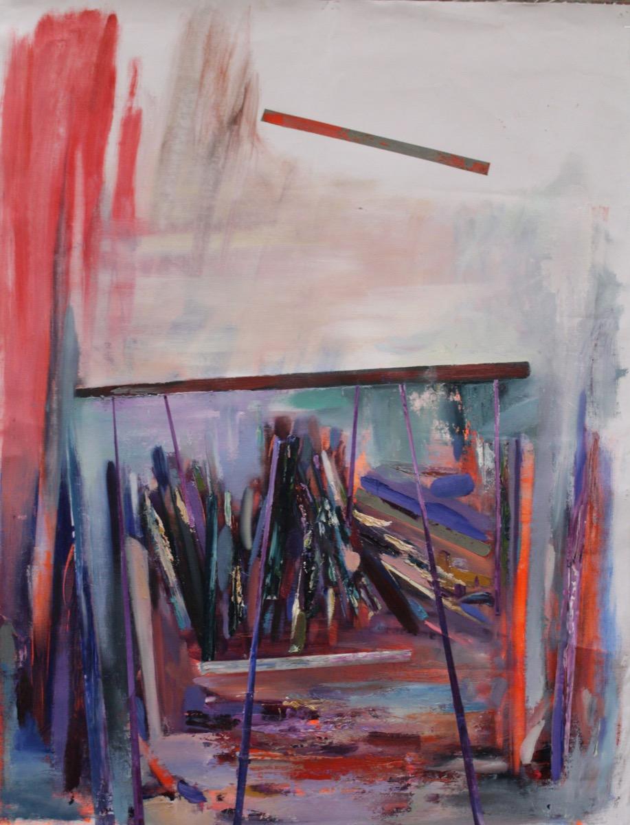 """Krisztina STRUGURAȘ-FAZAKAS, """"Impresii din copilărie"""", tehnica – pictură"""