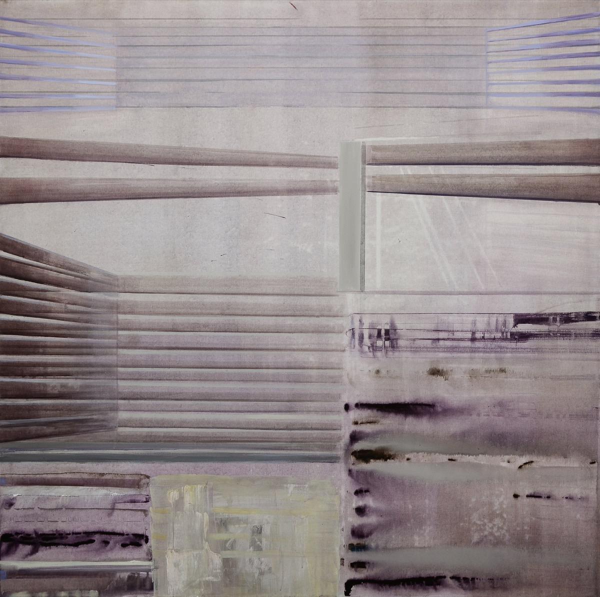 """Laura NICULESCU, """"Sătească"""", tehnica – pictură"""