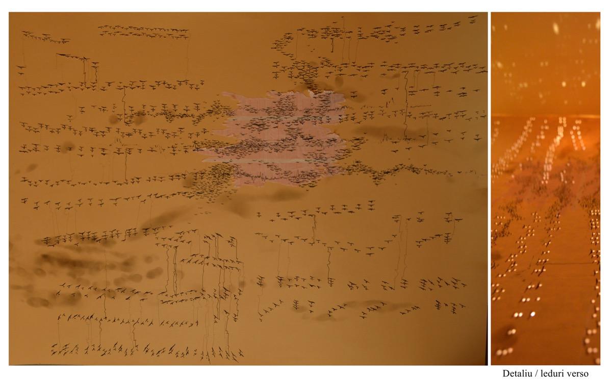"""Mădălina STAN, """"Suita nr. 2 pentru pian"""", tehnica – mixed media"""