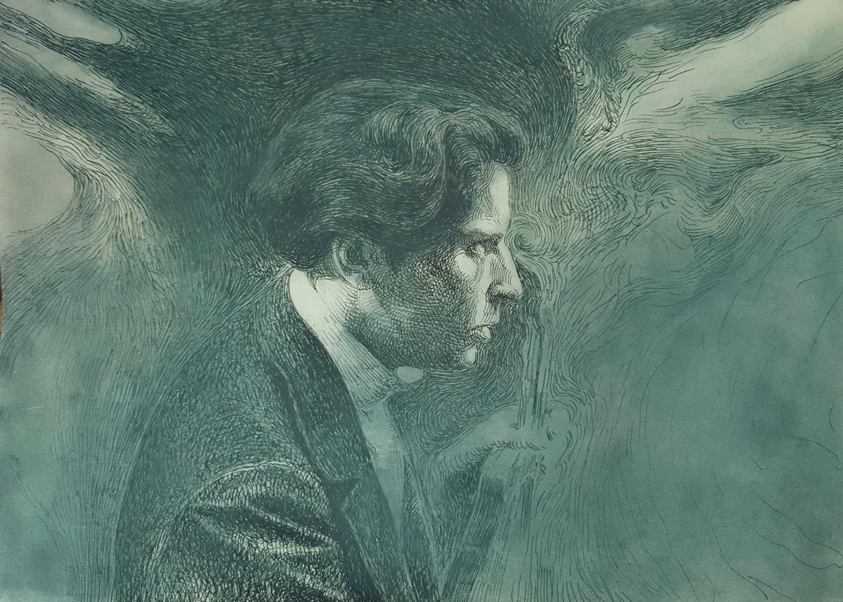 """Robert LORINCZ, """"Suita nr. 3 pentru pian"""", tehnica – grafică de șevalet"""