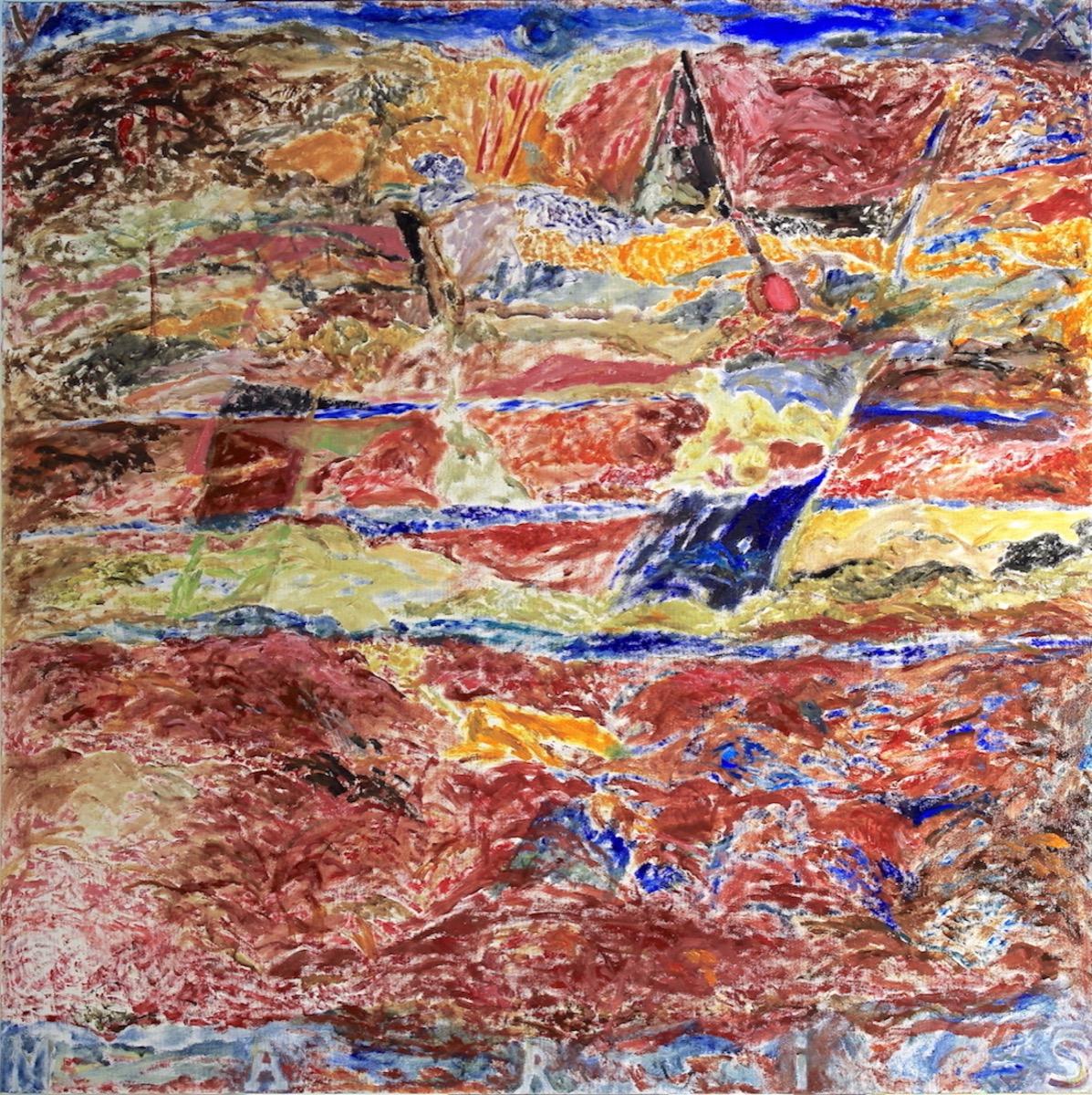 """Teodor ȘTEFAN, """"Vox Maris"""", tehnica – pictură"""